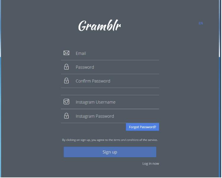無料投稿ツールGramblrを使った投稿方法ご紹介
