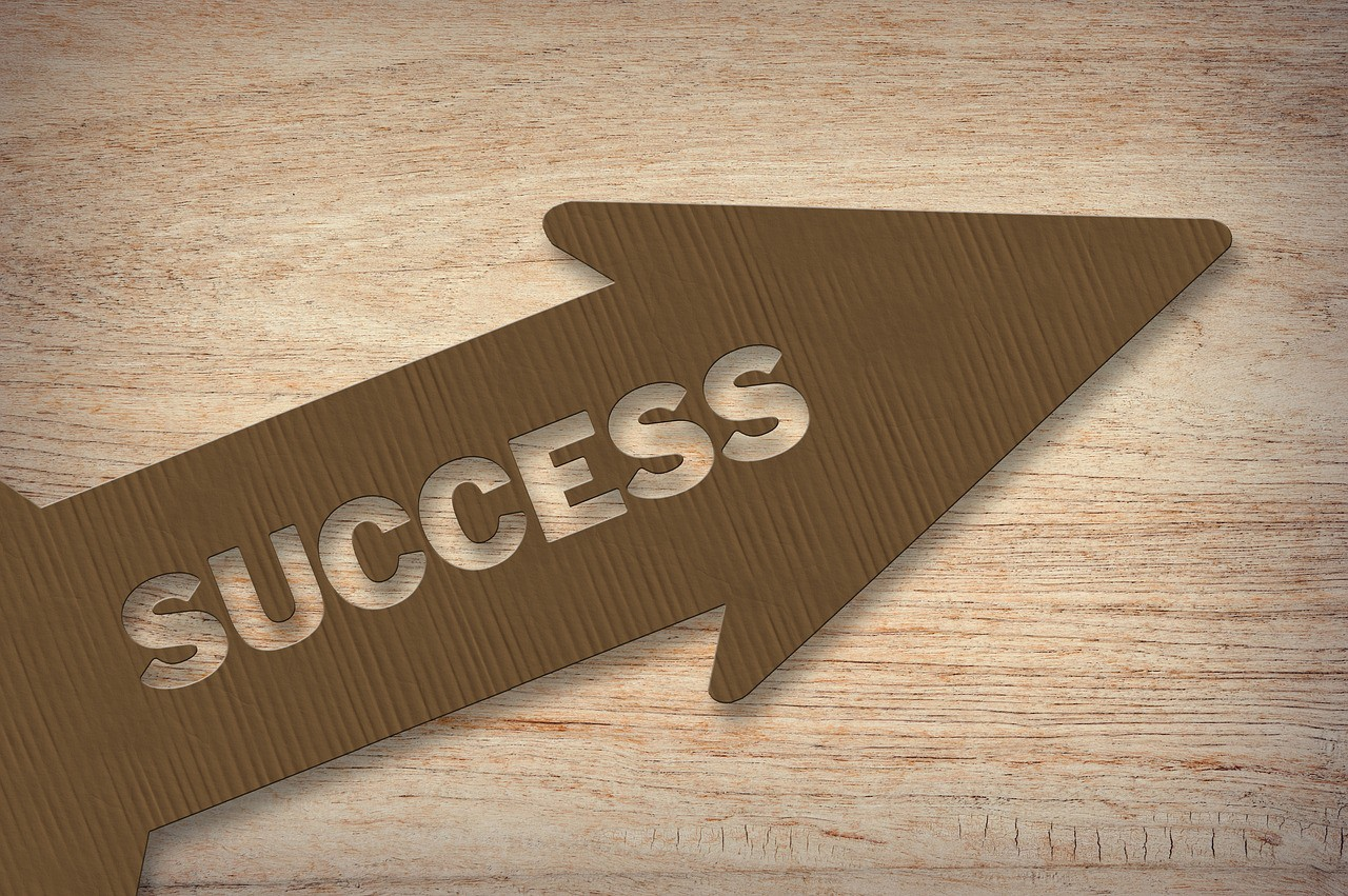 success-arrow